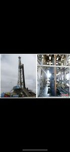 Land Cantilever Rig 1000 Hp Capable Of Drilling To 18 000 Land Rig Oil Rig
