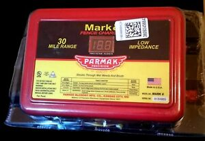 Parmak Mark 8 Quality Precision Fence Charger 30mile 110 120v 60hz New