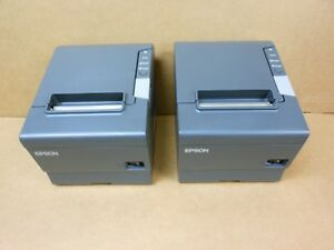 Epson Tm t88v M244a Thermal Printer Usb Serial Interface Power Supply