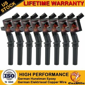 8 Pack Ignition Coil For Ford 4 6l 5 4l F 150 Xl F250 F550 4 6 5 4l Fd503 Dg508