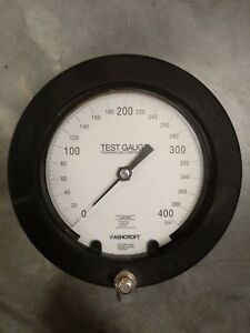 Ashcroft Test Gauge 400 Psi Grade Bronze Tube Brass Socket