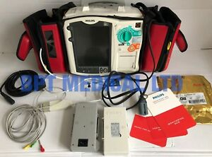Philips Heartstart Mrx M3535a 3 Lead Ecg Ac Power Module Good Battery Case