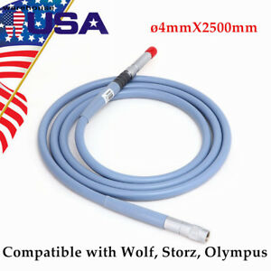 Endoscope Fiber Optic Cable Light Cable 4 X 2500mm Connector Fit For Storz Wolf