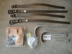 refurbished To All Specs Buckingham Adjustable Pole Climbing Gaffs Spikes