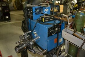 Miller Dialarc 250 Hf Tig Welder With Water Cooler Rad cart