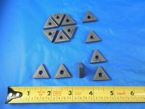 13 Pcs New Tnmg 431 Carbide Inserts Good For Cast Iron Machine Shop Tooling