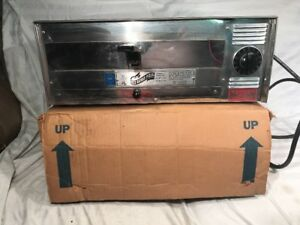 Pizza Pal Wisco Electric Oven Good Condition Stainless Model 412 Pizza