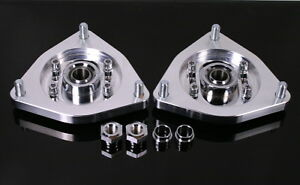 10 13 Genesis Coupe Billet Aluminum Front Camber Plates Kit For Coilover