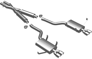 Magnaflow Catback Exhaust System For 2000 2005 Bmw M5 5 0l 16858