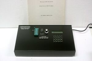 Kenwood Eprom Programmer Kpt 30 With Operations Manual Charger