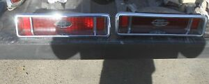 1963 1964 Buick Riviera Tail Lights Assembly Tailights Pair S