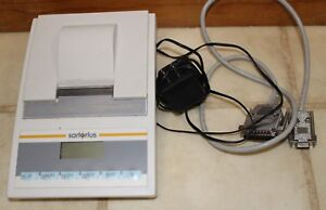 Sartorius Balance Scale Printer Ydp03 0ce With Cable And Power Adapter