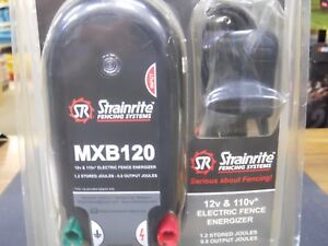 Strainrite Mxb120 Electric Fence Charger