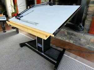 Drafting Table W drafting Machine Electric Height Adjustment Tilt 30x42