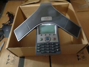 Cisco Cp 7937g Conference Phone With 2x Polycom Microphones