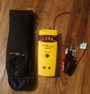 Fluke Networks Ts100 Pro Cable Fault Finder With Clips And Bag