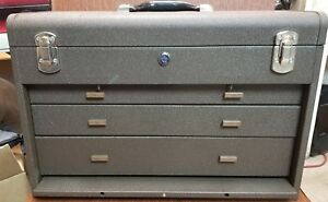 Kennedy Manufacturing 620b 20 3 drawer Machinists Steel Tool Storage Chest