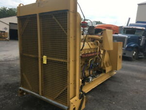 Cat 3412 Diesel Genset 665hp All Complete And Run Tested