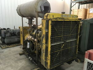 Cat 3408 Diesel Genset 480hp Approx 1k Hours All Complete And Run Tested