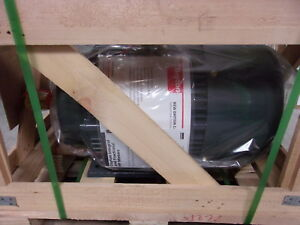Dayton 15 Hp Three Phase Induction Motor Model 2mxv7a New In Crate