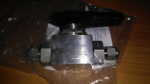 Swagelok Ss afss6 3 8 Alternative Fuel Valve several Availiable
