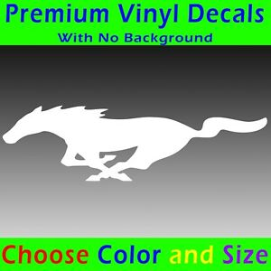 Ford Mustang Pony Decal Sticker Ford 5 0 Gt Pony Emblem Badge 302 Racing Horse