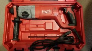 Milwaukee 1 Sds Plus Rotary Hammer Model 5262 21 With Carring Case
