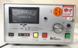Associated Research Ac Hypot Ground Continuity Test Set 4050at