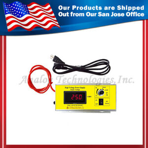 High Voltage Power Supply Ahvac25kvr5mabt Short Circuit Protection Usa Ship