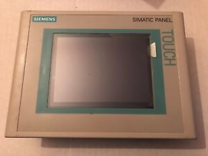 Siemens 6av6 642 0aa11 0ax0 Simatic Tp177a Dp Touch Panel 6 in