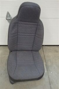 Rh Passengers Side Front Bucket Seat Cloth Agate Jeep Xj Cherokee 97 2001