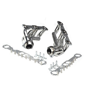 Stainless Steel Truck Headers For Chevy Gmc 5 0l 5 7l 305 350 V8 88 97