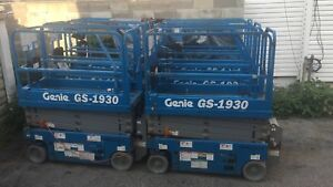 2013 Genie Gs 1930 19 Electric Scissor Lift Man Manlift Aerial Platform
