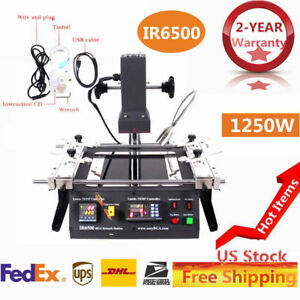 Us Ir6500 Infrared Bga Rework Station Soldering Welding Machine For Xbox360 Ps3