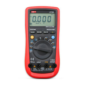Uni t Digital Multimeter Ut109 Voltmeter Tester Automotive Multi purpose Meters