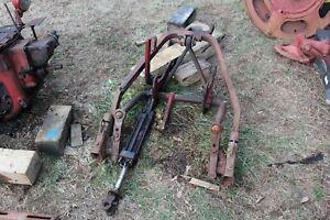 Antique Tractor Farmall Super C Parting Out Two Point Lift Frame