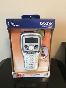 New In Box Brother Pt h100 Label Maker P touch Electronic Tze Tape Quick Ship