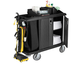 Rubbermaid Housekeeping Janitor Cart