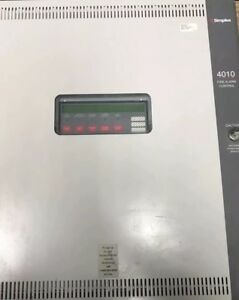 Used simplex 4010 Fire Panel Includes Expansion Power dact Card With Free Ship