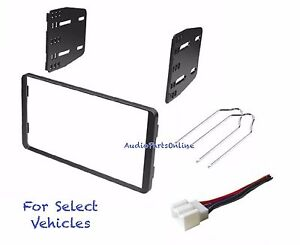 Double Din Radio Dash Kit Combo For Some 1998 2011 Ford Ranger 1999 03 F150 F250