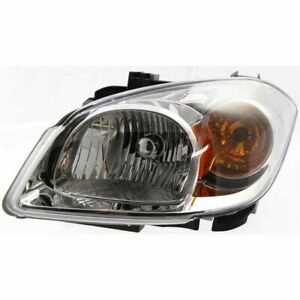 Headlight For 2005 2010 Chevrolet Cobalt 2007 2010 Pontiac G5 Left With Bracket