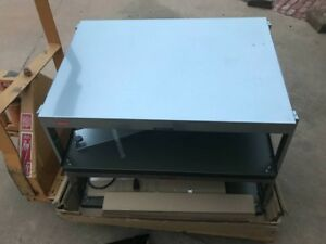 Hatco Grsds 36d See thru Countertop Heated Display Case With 3 Pan Dual Shelf