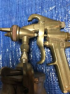 Sharpe Spray Gun With 450 Paint Cup Model 90 Made In Usa