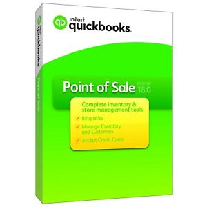Quickbooks Point Of Sale V18 Pro With Payments pc Download Cd