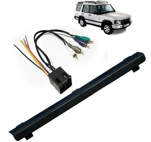 Single Din Stereo Dash Integrate Amp Wire Kit For Land Rover Discovery 2000 04