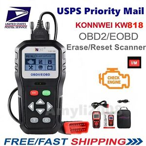 Kw818 Improved Obdii Odb2 Eobd Auto Diagnostic Scanner Tester Code Reader Tool