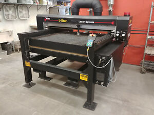 150w Co2 Laser Metal Cutting And Engraving Vytek 150 Watt 50 X 50