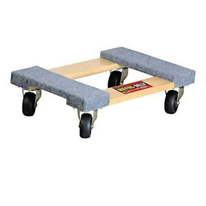 Four Wheeled Moving Dolly From Shoulder Dolly Heavy Duty Carpeted Furniture