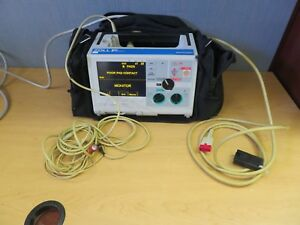Zoll M series Biphasic Monitor 3 Lead Aed Ecg Pacing Print 16115