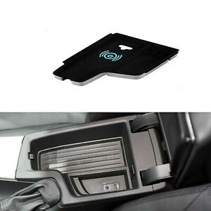 Mobile Phone Wireless Car Charger Armrest Storage For Bmw 3 F30 F31 F32 F34